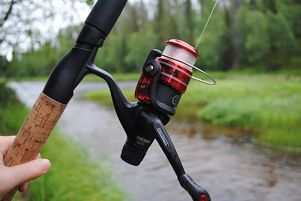Kalastusmatkalla Kuusamossa