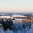 Talvimaisemia Kuopiosta